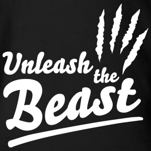 Unleash the beast Shirts - Organic Short-sleeved Baby Bodysuit