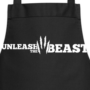 Unleash the Beast Bodybuilding Kratzspuren Kookschorten - Keukenschort