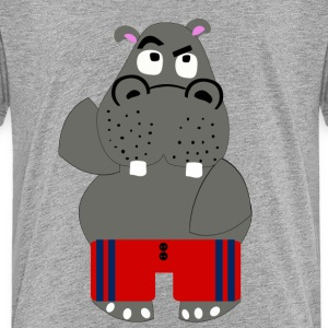 hippo Shirts - Teenage Premium T-Shirt