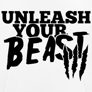 Unleash uw beest T-shirts - mannen T-shirt ademend