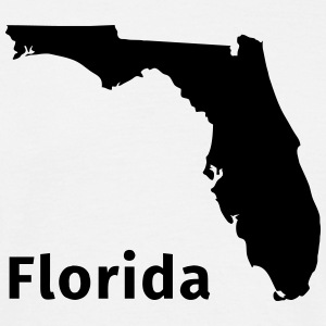 Florida T-shirts - Herre-T-shirt