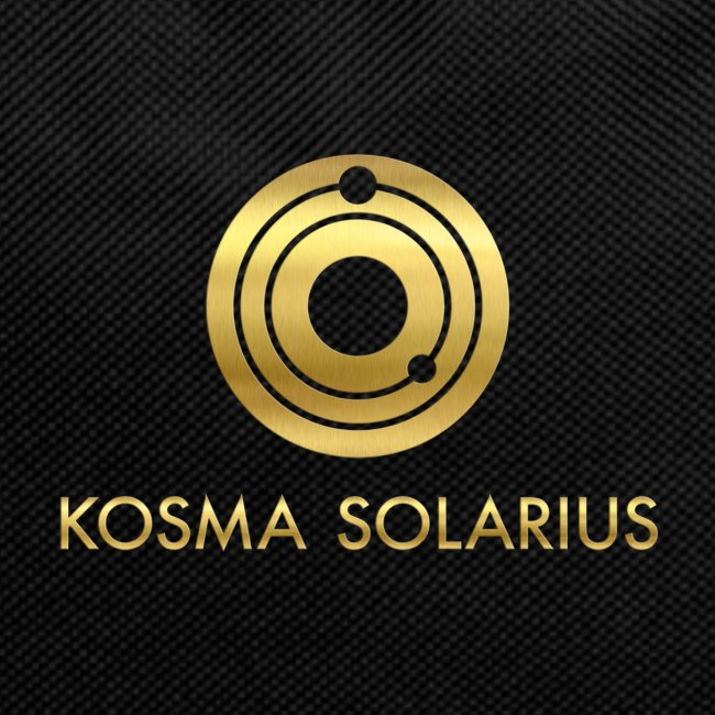 Kosma Solarius back pack gold