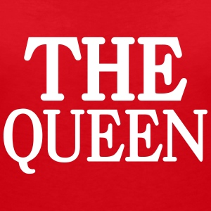 The Queen Camisetas - Camiseta con escote en pico mujer