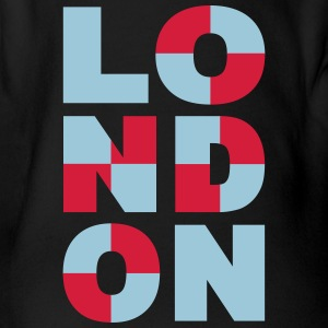 London T-Shirts - Baby Bio-Kurzarm-Body