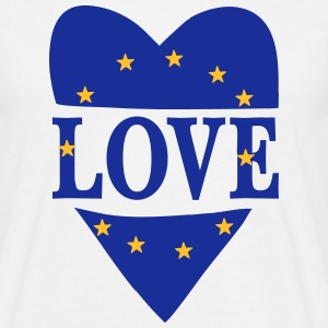 Love Europe T-Shirts - Men's T-Shirt