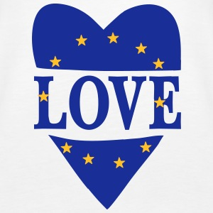 Love Europe Tops - Women's Premium Tank Top