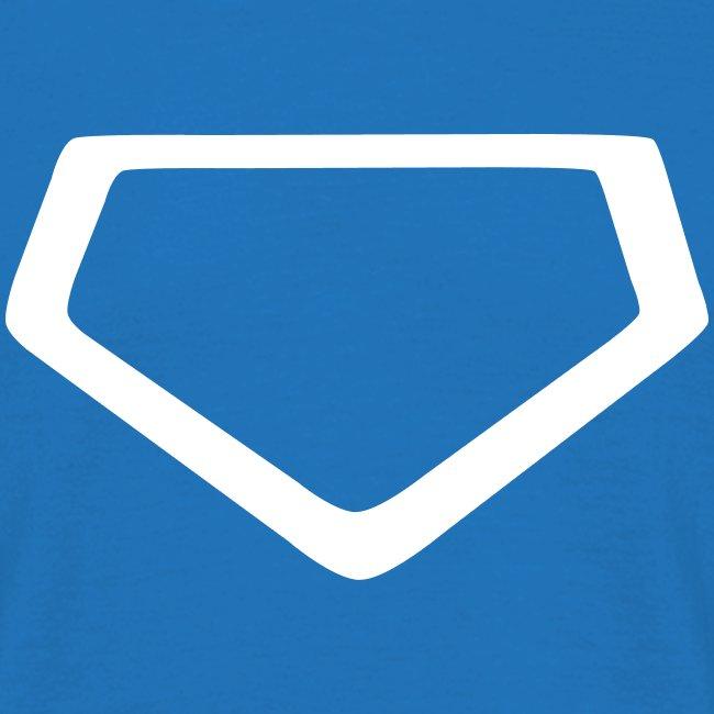 """Baseball Shirt """"Homeplate"""""""