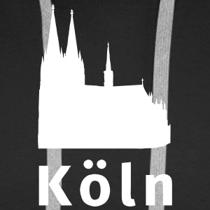 Köln Sweat-shirts - Sweat-shirt à capuche Premium pour hommes
