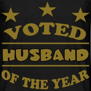 Voted husband of the year T-Shirts - Men's T-Shirt