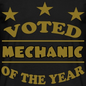 Voted mechanic of the year 222 T-Shirts - Männer T-Shirt