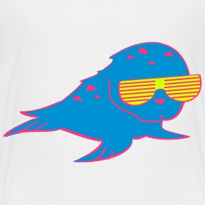 Robbe mit Shutter Shades T-Shirts - Teenager Premium T-Shirt
