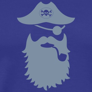 piraten moustache - Männer Premium T-Shirt