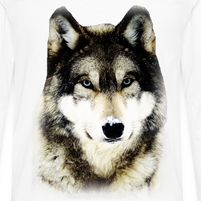 T shirt homme loup