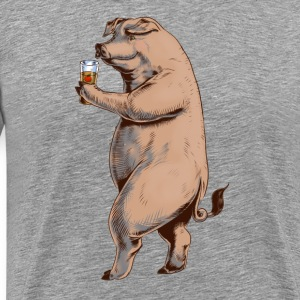 Pig and Cider Tee shirts - T-shirt Premium Homme
