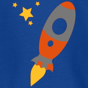 Raket to the stars - Kinderen T-shirt