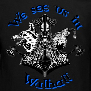 We see us in Walhall Langarmshirts - Teenager Premium Langarmshirt