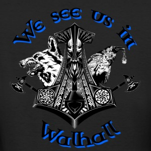We see us in Walhall T-Shirts - Frauen Bio-T-Shirt