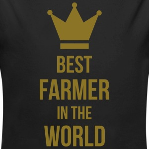 Best Farmer Hoodies - Longlseeve Baby Bodysuit