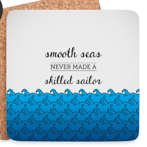 White sailing is life Mugs & Drinkware - Coasters (set of 4)