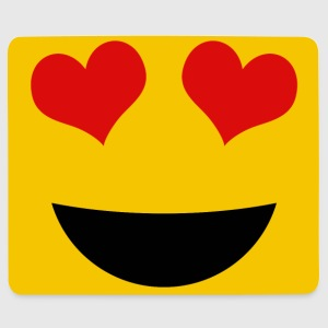Love smiley - Mousepad (Querformat)