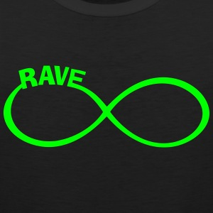 rave raver raven rave wear Sports wear - Men's Premium Tank Top