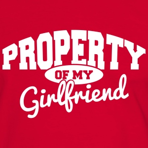 PROPERTY OF MY GIRLFRIEND T-Shirts - Men's Ringer Shirt