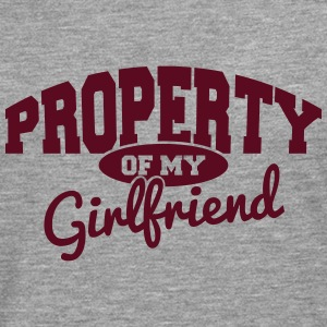 PROPERTY OF MY GIRLFRIEND Manches longues - T-shirt manches longues Premium Homme