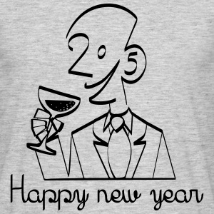 happy_new_year Tee shirts - T-shirt Homme