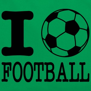 i love football with ball Borse & zaini - Borsa retrò