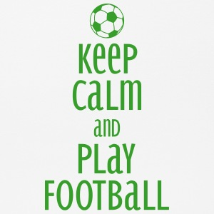keep calm and play football Sonstige - Mousepad (Querformat)