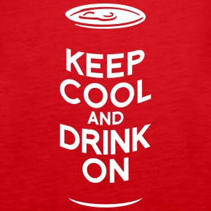 keep cool beer Tops - Women's Premium Tank Top