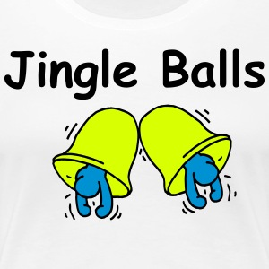 Jingle BALLS (Frauen) - Frauen Premium T-Shirt