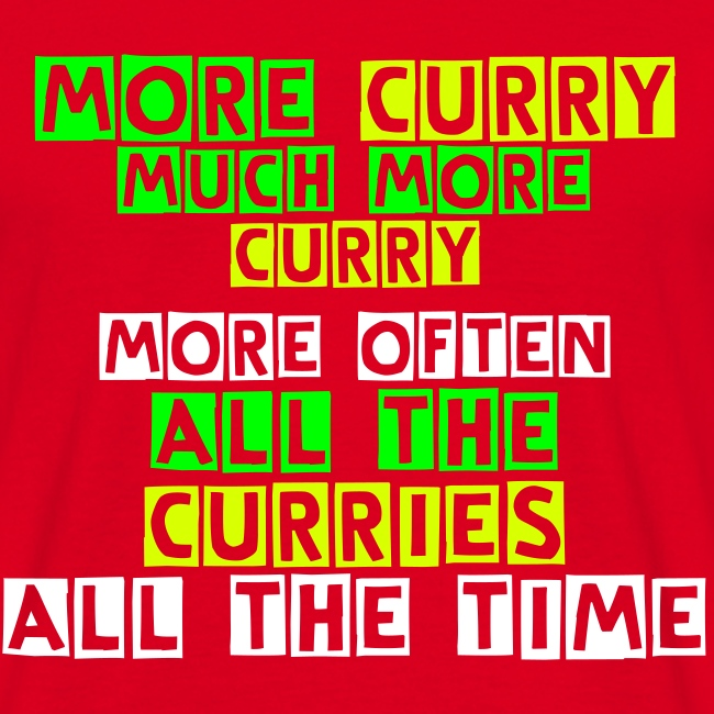 More Curry!