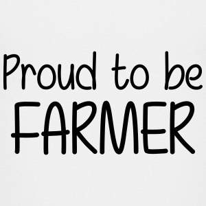 Proud to be Farmer Skjorter - Premium T-skjorte for tenåringer