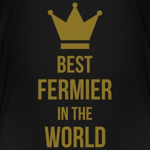 Best Fermier in the World Tee shirts - T-shirt Premium Ado