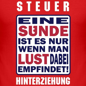 SÜNDER de - Männer Slim Fit T-Shirt