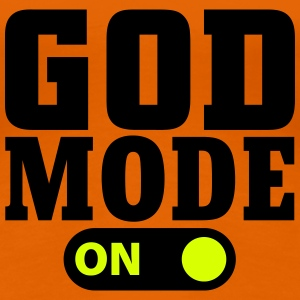 God Mode on T-shirts - Dame premium T-shirt