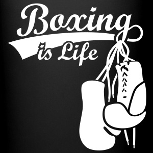 Boxing Gloves Boxing is Life Boxer MMA Gifts Ideas - Full Colour Mug