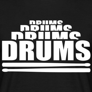 Drums Drummer Drumming Drumsticks Sticks T-Shirts - Men's T-Shirt