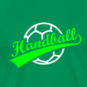 Handall Ball Icon Logo Hand T-Shirts Sports - Men's Premium T-Shirt