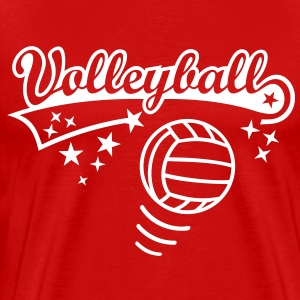 Volleyball Ball Volley Sports T-Shirts images - Men's Premium T-Shirt