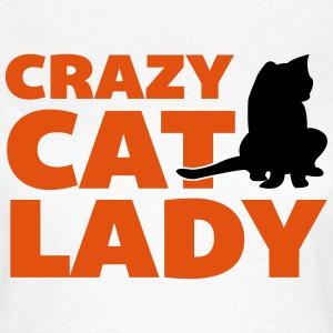 Crazy Cat Lady T-skjorter - T-skjorte for kvinner