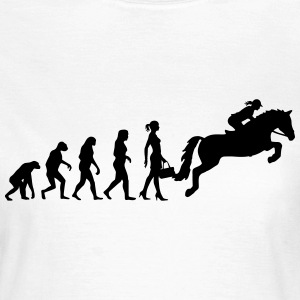 Evolution Ladies Springreiten T-Shirts - Frauen T-Shirt