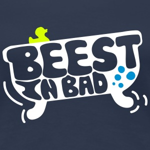 Beest in bad T-shirts - Vrouwen Premium T-shirt