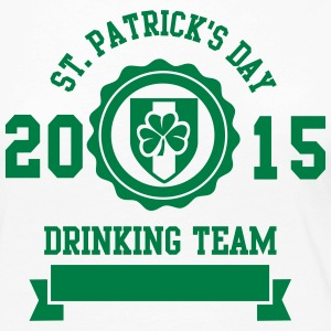 St. Patrick's day drinking Team 2015 Manches longues - T-shirt manches longues Premium Femme