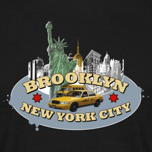 Männer T-Shirt NYC New York City Brooklyn - Männer T-Shirt