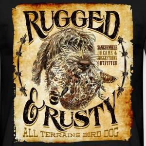 rugged and rusty Camisetas - Camiseta hombre