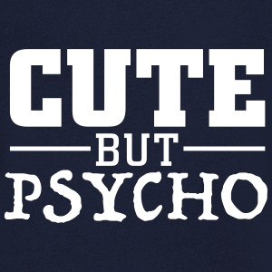 cute but psycho Tee shirts - T-shirt Homme col V