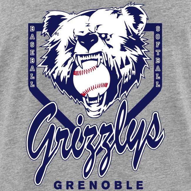 DEBARDEUR DOP GRIZZLYS Grey