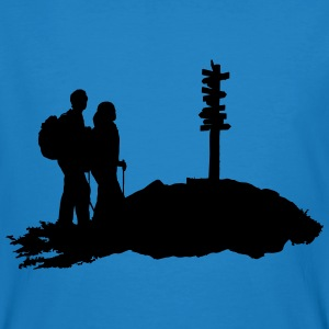 hiking, hiker - Men's Organic T-shirt